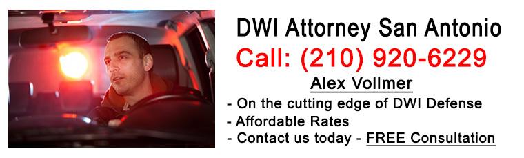 experienced dwi attorney in San Antonio